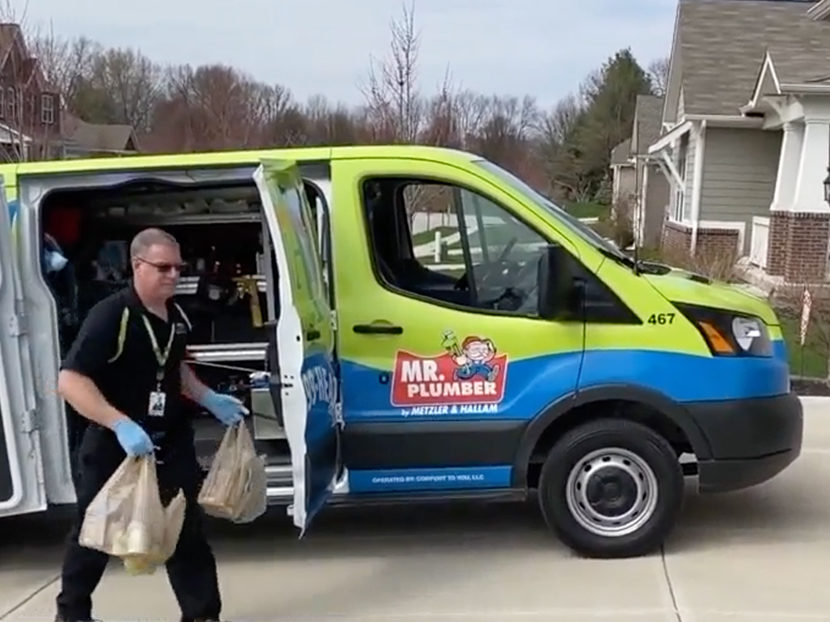 Williams Comfort Air Provides Free Grocery Delivery Amid COVID-19 Pandemic