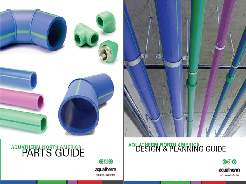 Aquatherm Announces New Product Guides