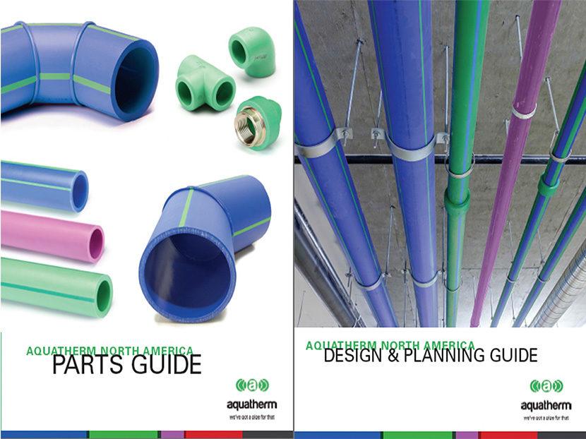 Aquatherm Announces New Product Guides