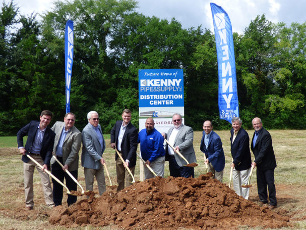 Kenny-pipe--supply-inc-breaks-ground-for-new-distribution-center