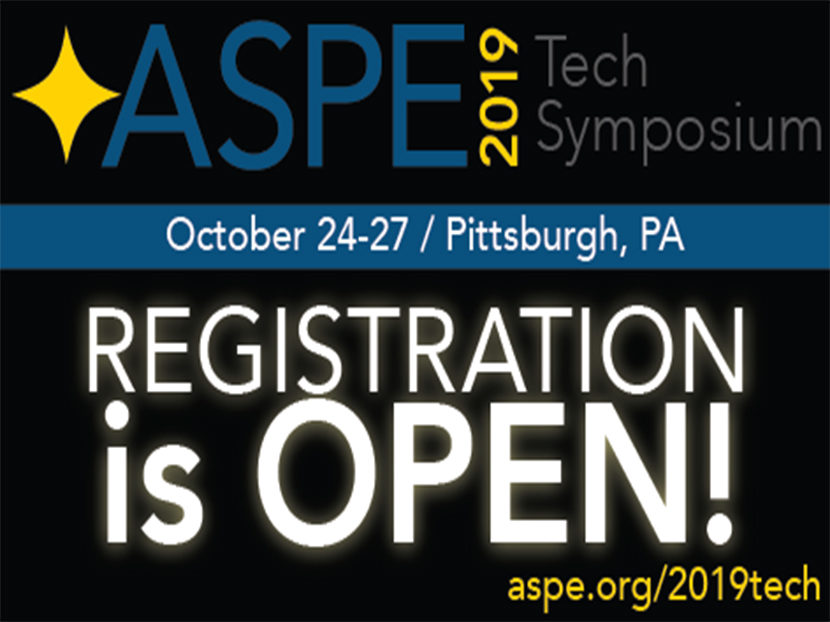 2019 ASPE Tech Symposium Announces Exciting New Speakers on Trending Topics