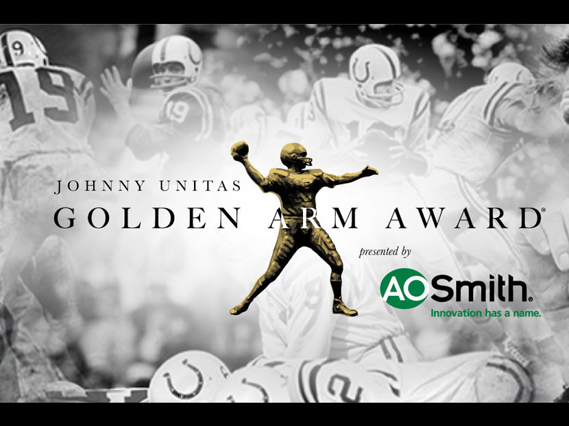 A. O. Smith and Johnny Unitas Golden Arm Award Announce 2019 Class of Candidates