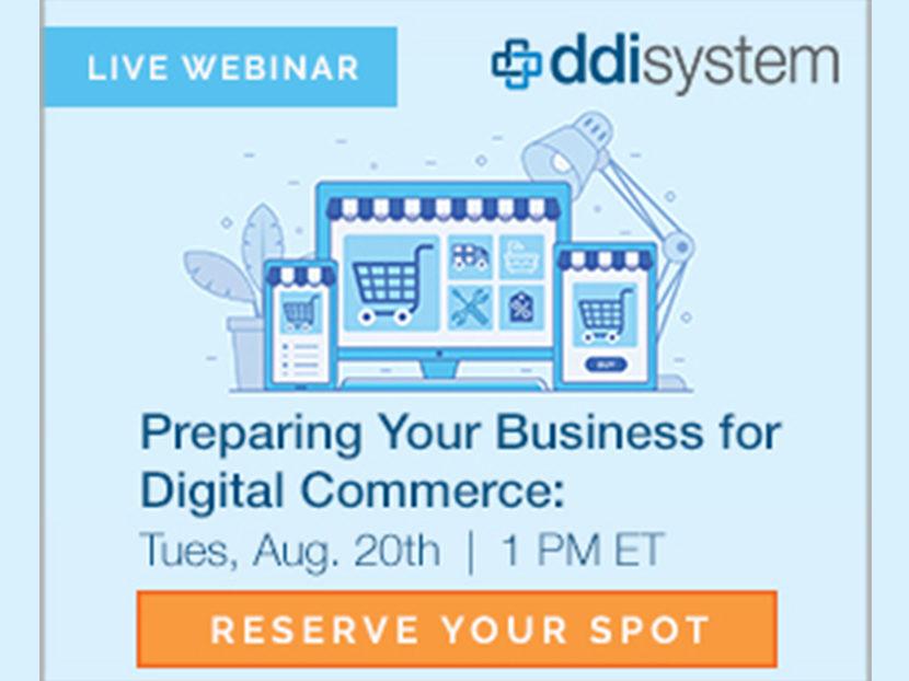 DDI System to Host Free Digital Commerce Webinar