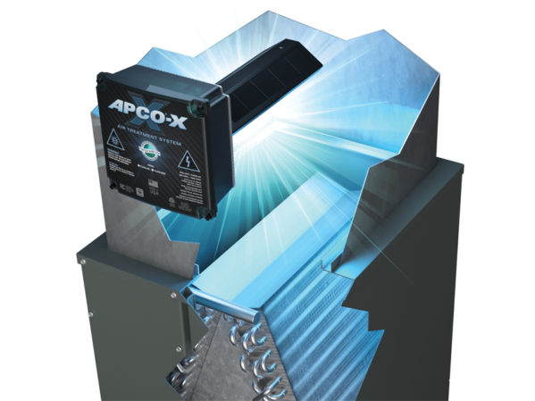 Fresh-Aire UV Introduces APCO-X to its APCO Air Treatment Product Line for HVAC Systems