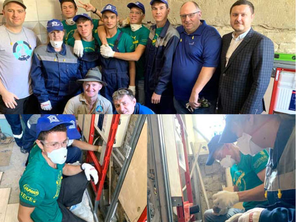 Students from Local Construction College Join WorldSkills Kazan Team Project Effort