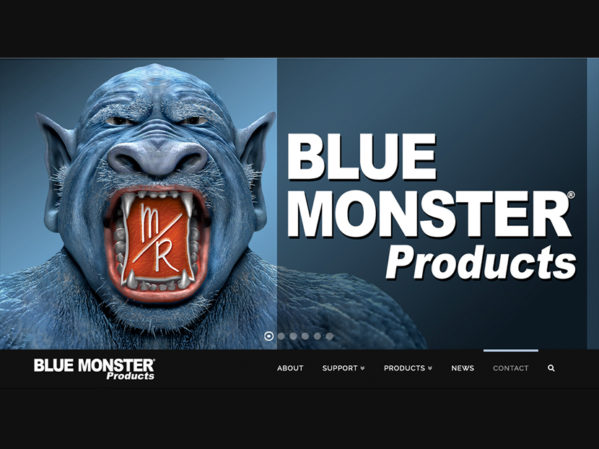 Clean-Fit Products Announces New Blue Monster Website