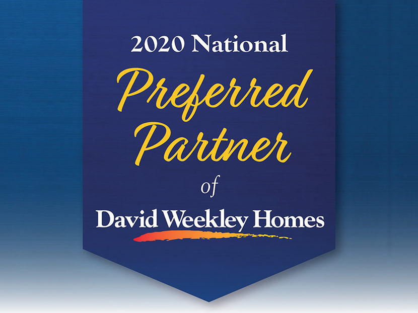 "David Weekley Homes Names Uponor a ""National Preferred Partner"" 2"
