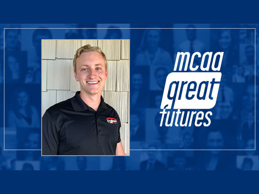 Modern Piping Inc. Intern Matt HermsenWhite Receives MCAA Internship Grant