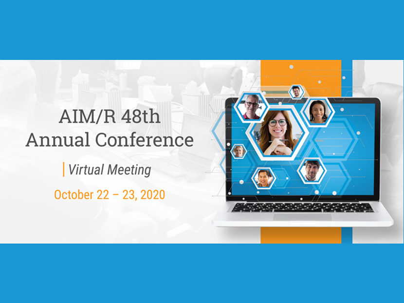 Registration Open for AIM/R Virtual Meeting