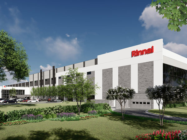 Rinnai America Breaks Ground on New Factory