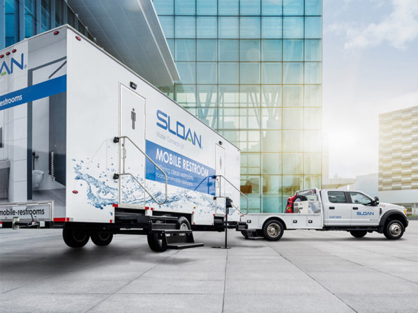 Sloan Deploys Mobile Restrooms to Support Communities in Need