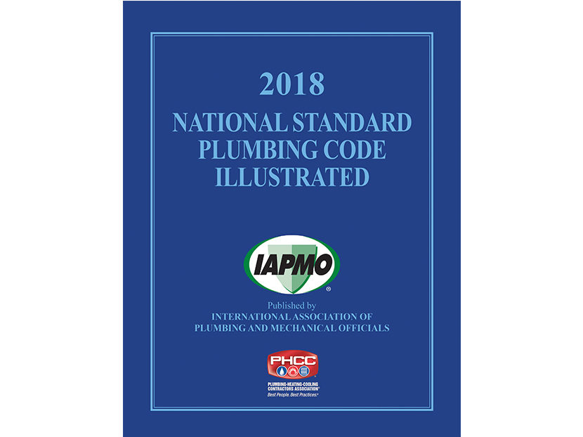 2018 National Standard Plumbing Code Illustrated Now Available