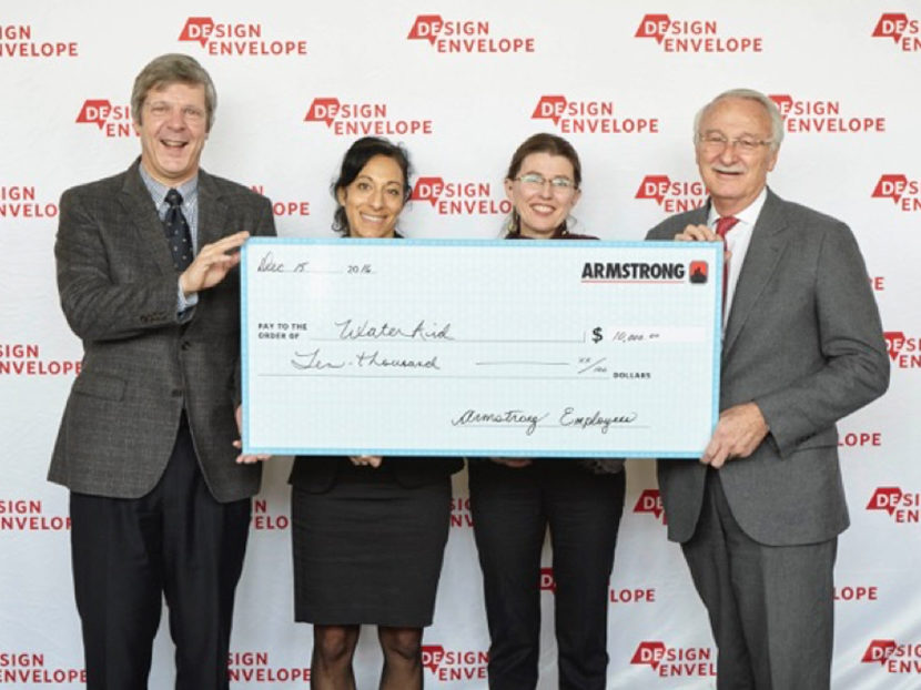 Armstrong's Donation-Helps-Improve-17,000-Children-Lives