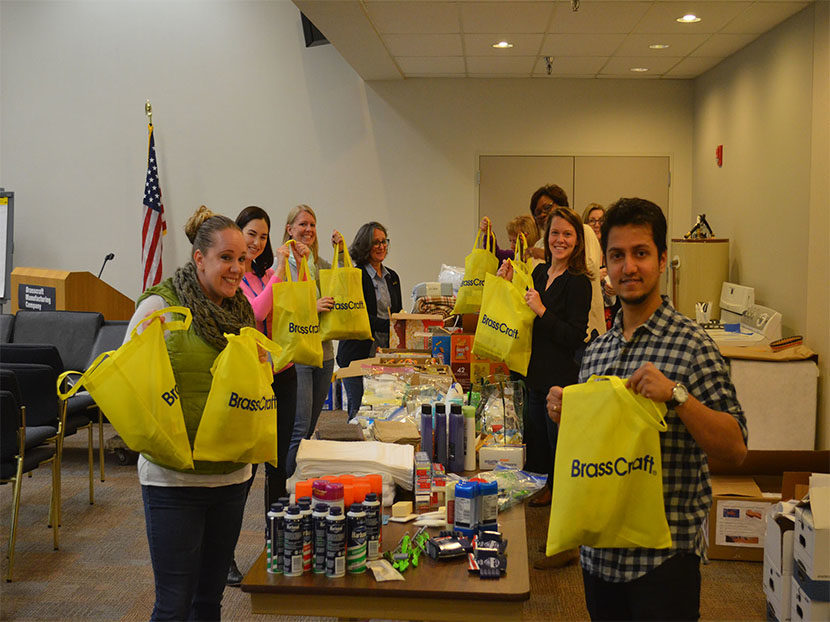 Brasscraft Helps Community Organizations Year Round