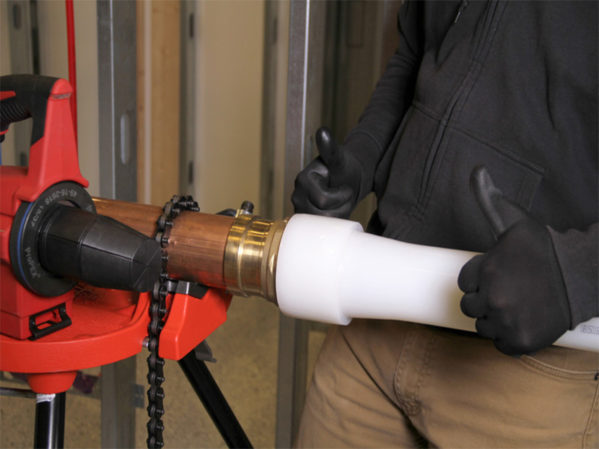 Uponor Launches ProPEX Copper Press Adapters