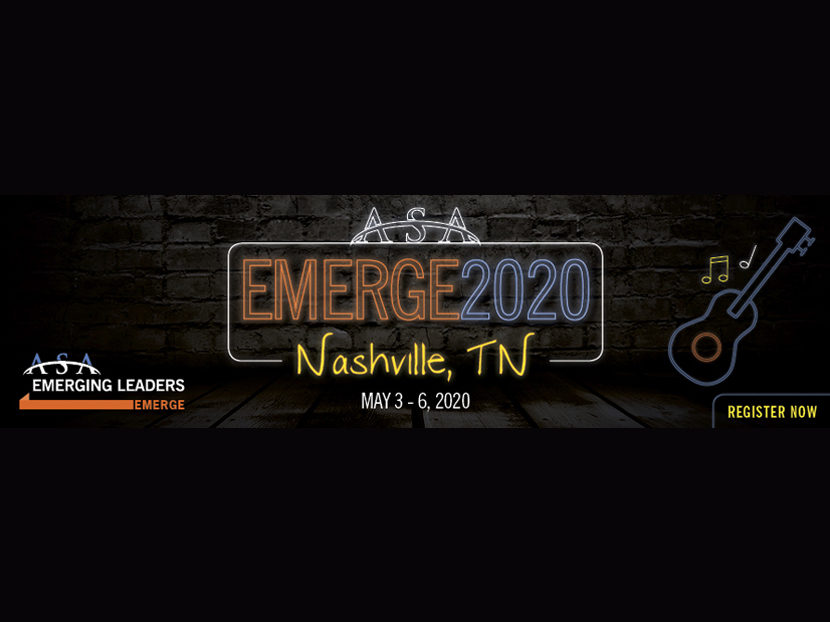 ASA Extends Registration Deadline for EMERGE2020