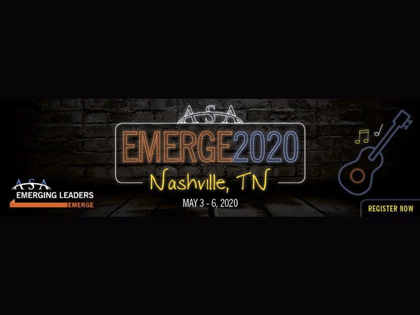 ASA Extends Registration Deadline for EMERGE2020