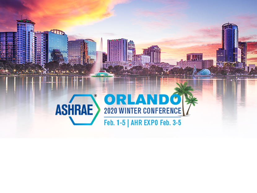 ASHRAE Learning Institute Announces Course Schedule for 2020 Winter Conference