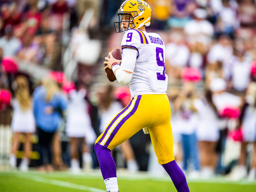 Joe Burrow Wins 2019 Johnny Unitas Golden Arm Award Presented by A. O. Smith
