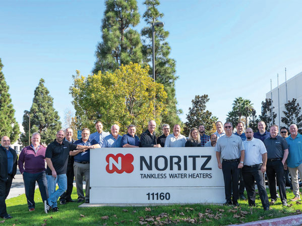Noritz Recruits Keyline Sales