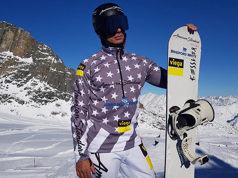 Professional Snowboarder and Plumber Jonathan Cheever Endorses Viega