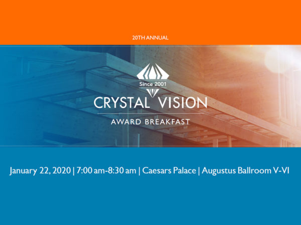 Registration Open for 20th Annual Crystal Vision Awards Breakfast