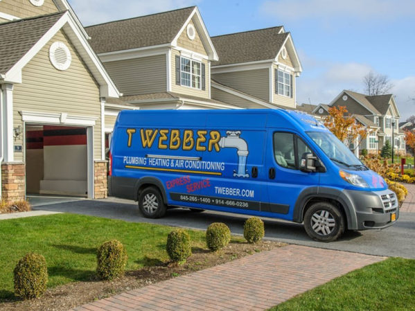 T.Webber Plumbing, Heating, Air & Electric Donates New Heating System to Local Recipient