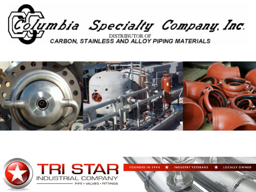 Columbia Specialty Company Announces Sale to Tri Star Industrial