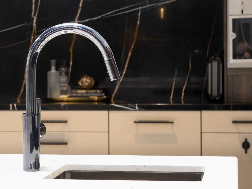 Newport Brass Midnight Chrome Faucet Finish