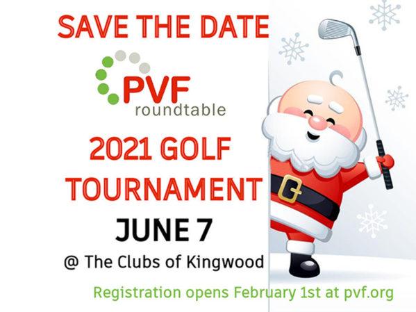 PVF Roundtable Announces 2021 Golf Tournament