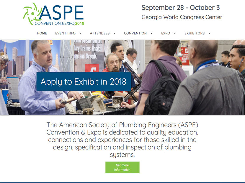 ASPE's 2018 Convention & Expo to be Held Sept. 28-Oct. 3