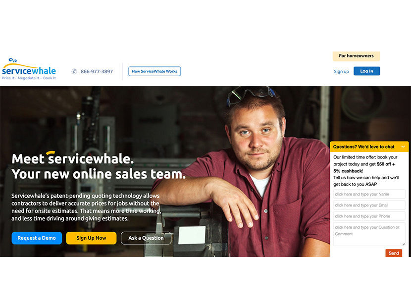 Bradford White and ServiceWhale Team Up to Help Homeowners Shop for Contractor Services