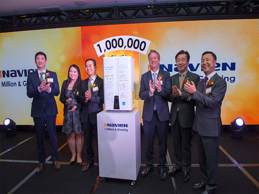 Navien Celebrates One Million Condensing Units Sold in North America