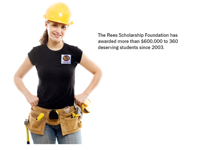 Rees Scholarship Foundation Awards $74,000 to Aid Aspiring HVACR Technicians