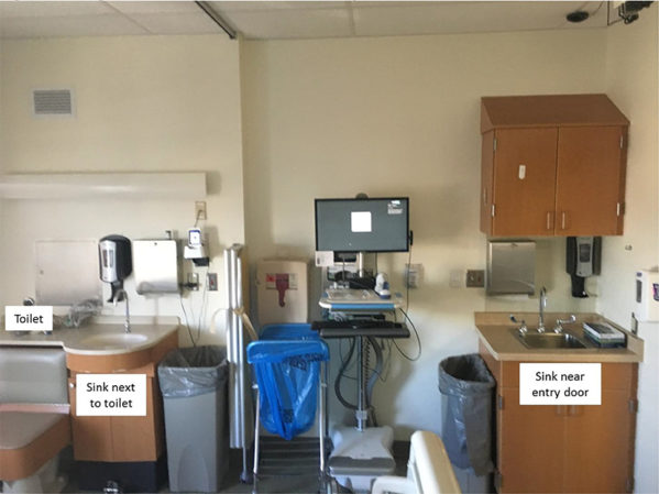 Study: Sink Drains Next to Toilets in Patient Rooms Equals a Reservoir of Bacteria