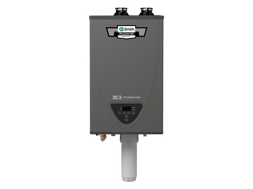A. O. Smith Revolutionizes Tankless Water Heating with Next Generation X3 Scale Prevention Technology