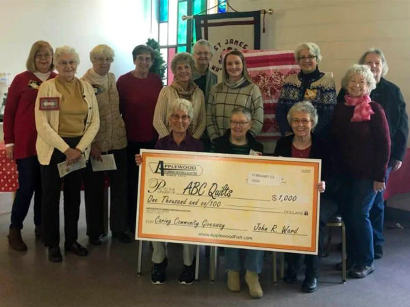 Applewood Awards $1,000 to ABC Quilts of Colorado
