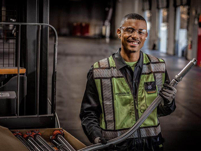 Ferguson Fabricator Jamelle Adkins Discusses the Importance of Skilled Trades