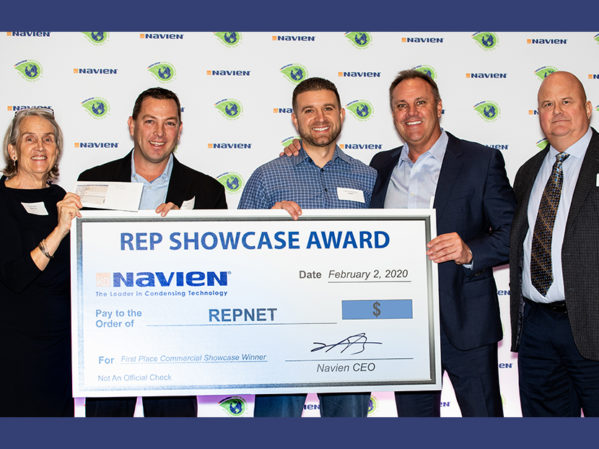 Navien Awards Reps for Top Projects at Annual Sales Meeting