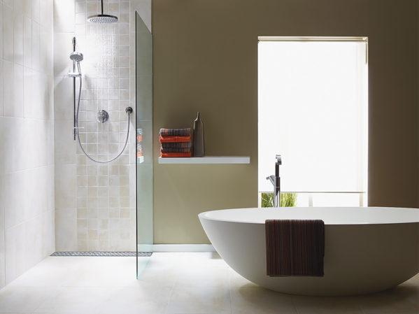 QuickDrain USA ShowerLine PVC Linear Shower Drain