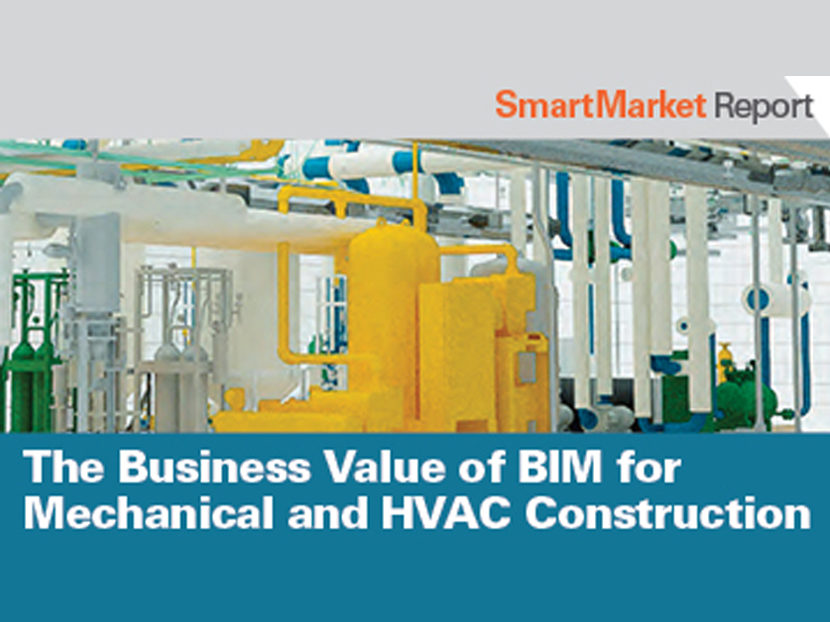 Report: High Degree of BIM Use by Mechanical Contractors Leads to Multiple Benefits