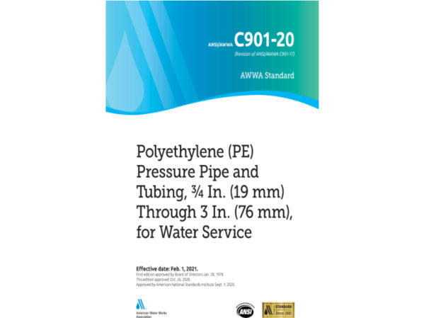 ANSIA/WWA  C901  Update  Heightens Standards  For  HDPE Water  Service  Pipes