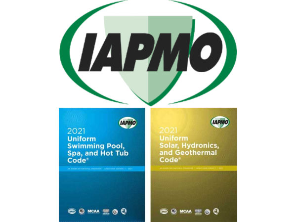 IAPMO Releases 2021 Solar, Hydronics and Geothermal, Swimming Pool, Spa and Hot Tub Codes