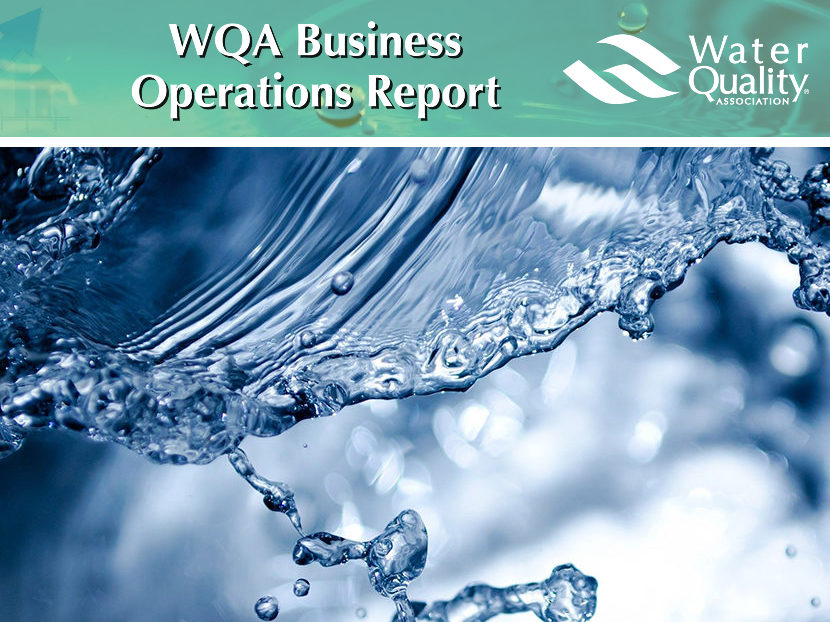 WQA launches Business Operations Report 2