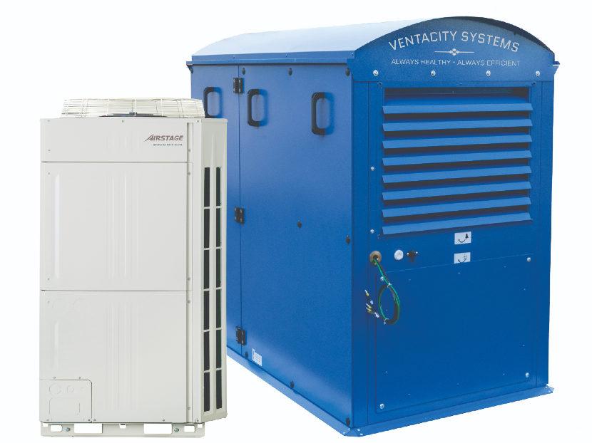 Commercial Building Electrification Study Involves Fujitsu and Ventacity