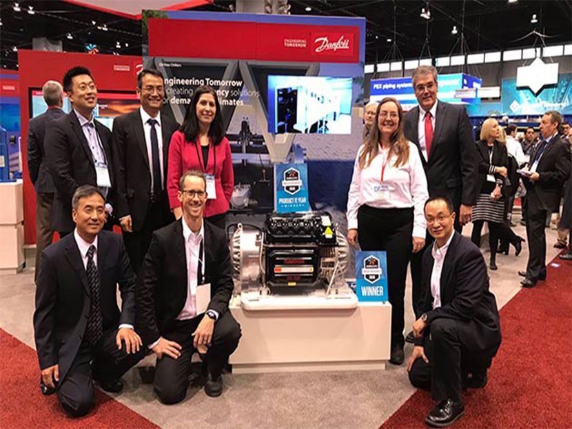 Danfoss Turbocor Wins AHR Expo Product of the Year