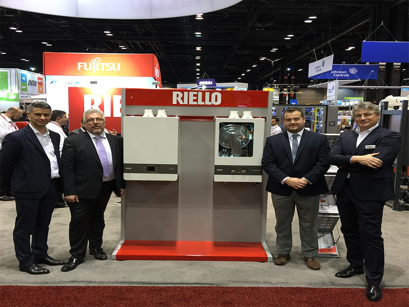 Riello High-Efficiency Wall-Hung Boilers Now Available in North America