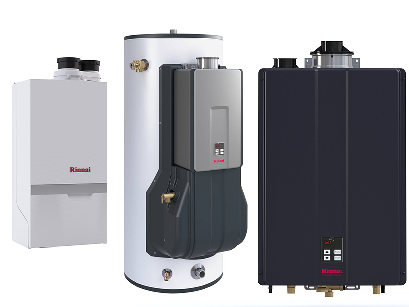 Rinnai Launches Three Innovative Product Lines