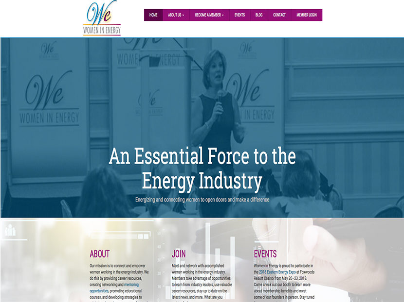 Women in Energy Website Goes Live