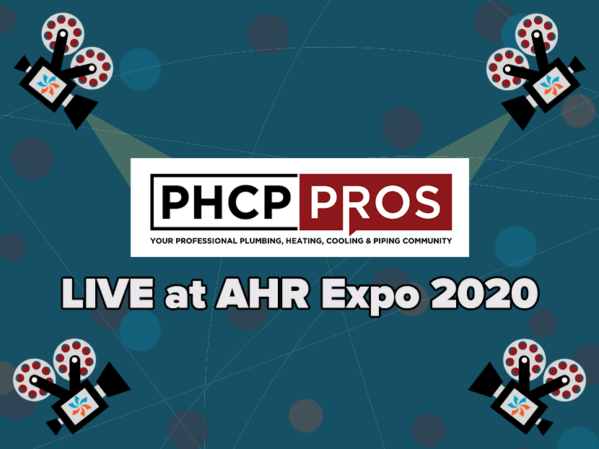 PHCPPros to Take Livestreaming to the Next Level at AHR Expo 2020